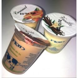 Flan vanille X2